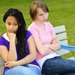 ragazze adolescenti annoiate — Foto Stock #4719635