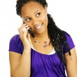 Teen girl with mobile phone — Stock Photo #4719717