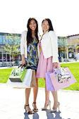 Namoradas de compras — Foto Stock