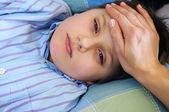 Sick child — Stock Photo