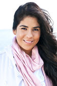 Young native american woman — Stock Photo