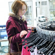 Stock Photo: Teenage girl shopping