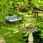 Green garden — Stock Photo #4720391