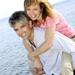 Mature romantic couple — Stock Photo #4720412