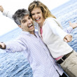 Carefree mature couple - Stock Photo