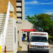 Ambulance at Emergency — Stock Photo