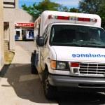 Ambulance at Emergency — Stock Photo