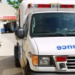 Royalty-Free Stock Photo: Ambulance at emergency