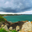 Atlantic coastline in Brittany, France — Stock Photo