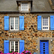 Country house in Brittany, France - Stock Photo
