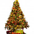 Stock Photo: Isolated Christmas tree