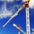 Construction cranes — Stock Photo #4824337
