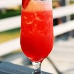 Strawberry daiquiri — Stock Photo
