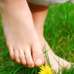 Barefoot — Stock Photo