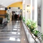 Hospital corridor — Stock Photo