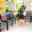 Stock Photo: Hospital waiting room