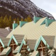 Stock Photo: Mountain lodge