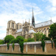 Notre Dame cathedral - Stock Photo