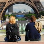 turystów w Francji — Zdjęcie stockowe
