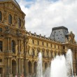 the louvre — Stockfoto