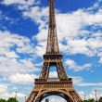 Eiffel tower — Stock Photo #4824613