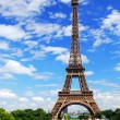 Eiffel tower — Stockfoto