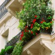 Paris balcony - Stock Photo