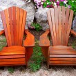 Patio chairs — Stock fotografie