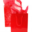 Red shopping bags — Stock Photo #4824766