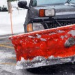 Snow plow - Stock Photo