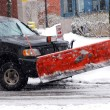 Snow plow - Foto de Stock