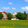 Stock Photo: Residential homes