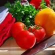 Fresh vegetables — Stock Photo #4824872