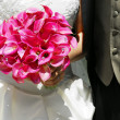 Bride and groom - Foto Stock