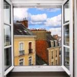 Open window — Stock Photo #4824940
