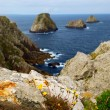Atlantic coast in Brittany - Stock Photo