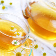 Camomile tea - Stock Photo
