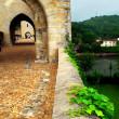 Stock Photo: Valentre bridge in Cahors France