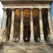 Stock Photo: roman temple in nimes france