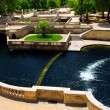 Jardin de la Fontaine in Nimes France — Stock Photo