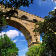 Royalty-Free Stock Photo: Pont du Gard in southern France