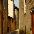 Narrow street in Perigueux — Stock Photo