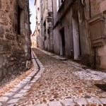 calle medieval en Francia — Foto de Stock