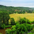 Dordogne river in France — Stock Photo