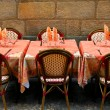 Stock Photo: Restaurant patio