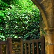 Garden gate in Sarlat, France — Stock Photo #4825516