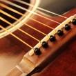 Guitar bridge — Stock Photo #4825599