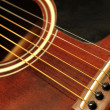 Guitar close up — Stock Photo