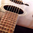 Stock Photo: Guitar close up