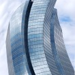 Distorted skyscraper - Stock Photo